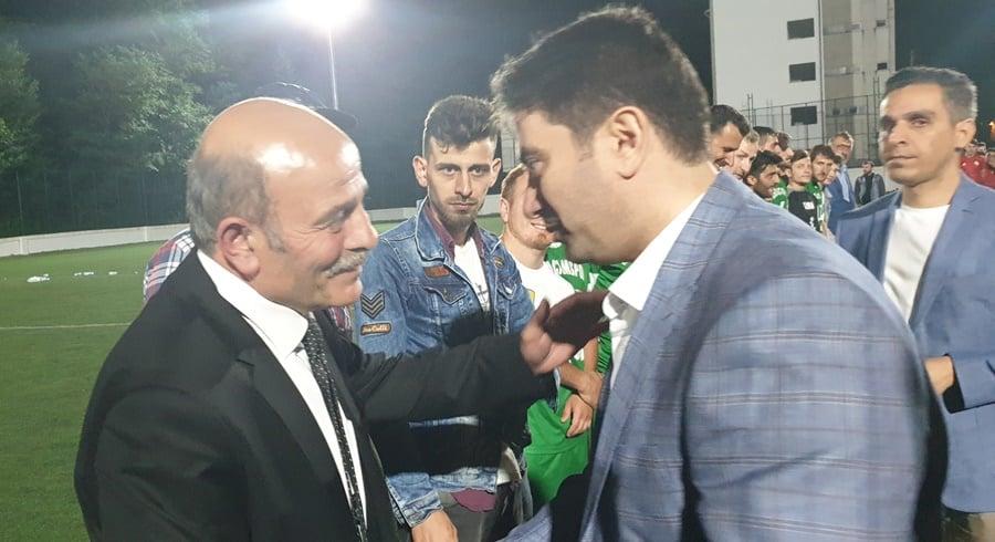 Çaykara Kaymakamlık Kupası Şampiyon Karaçamspor 4