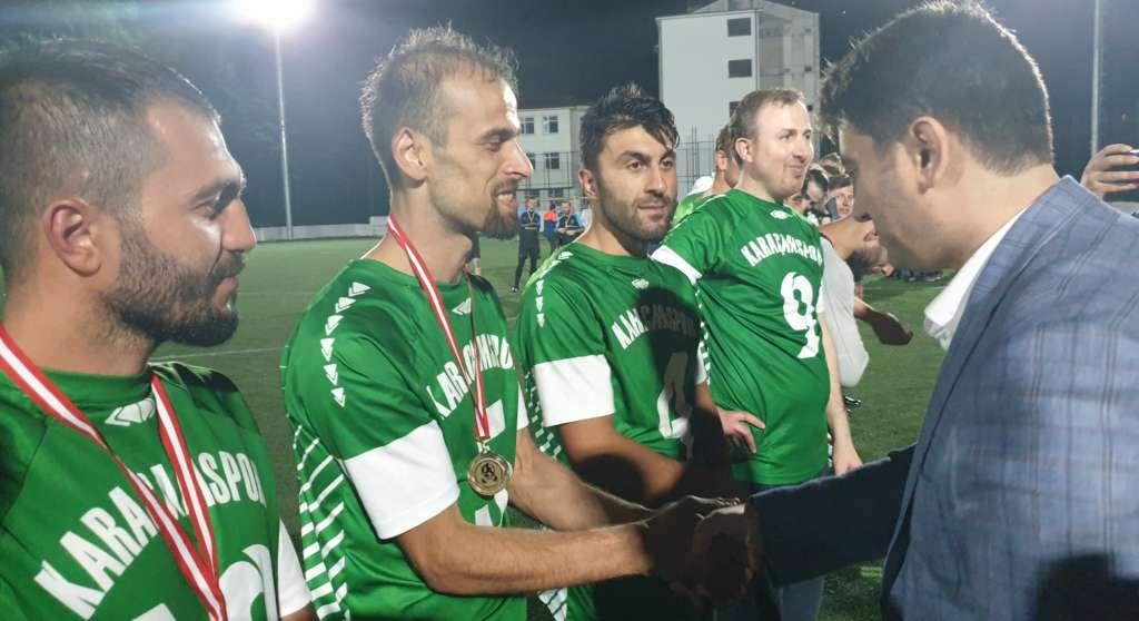 Çaykara Kaymakamlık Kupası Şampiyon Karaçamspor 5