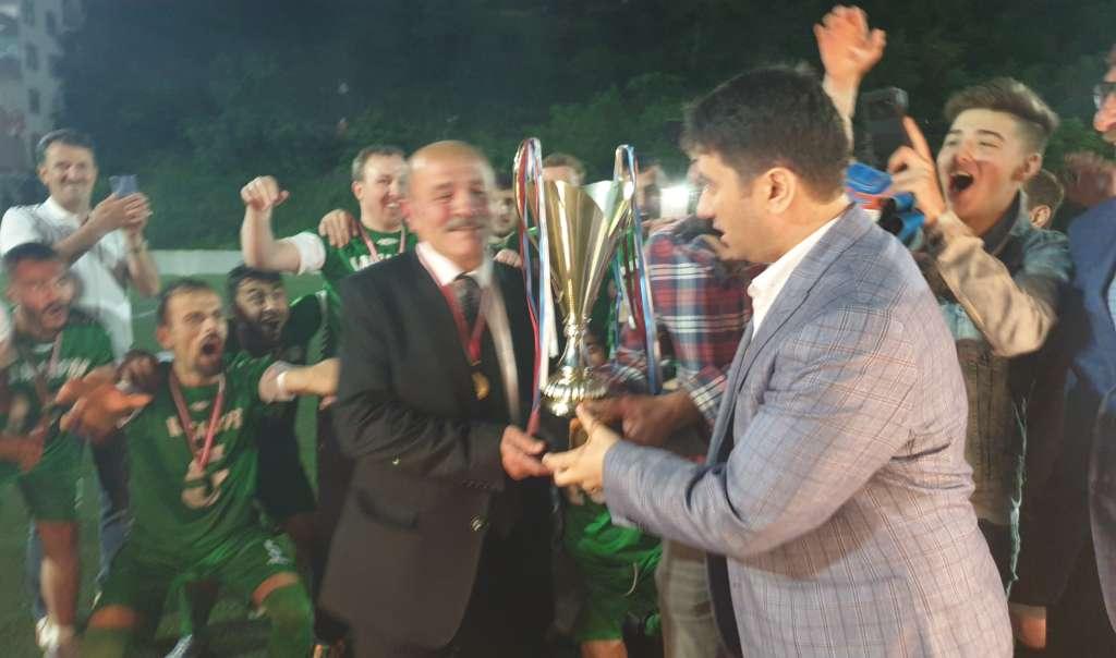 Çaykara Kaymakamlık Kupası Şampiyon Karaçamspor 7