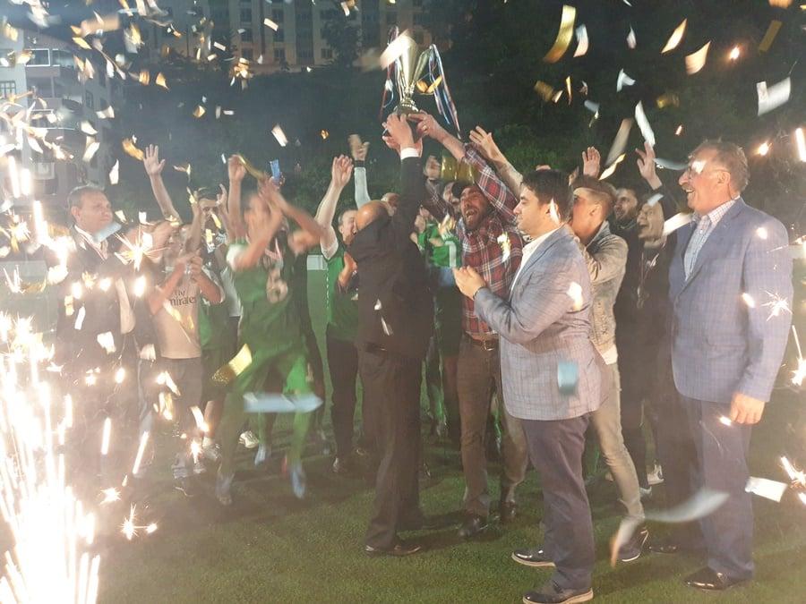 Çaykara Kaymakamlık Kupası Şampiyon Karaçamspor 8