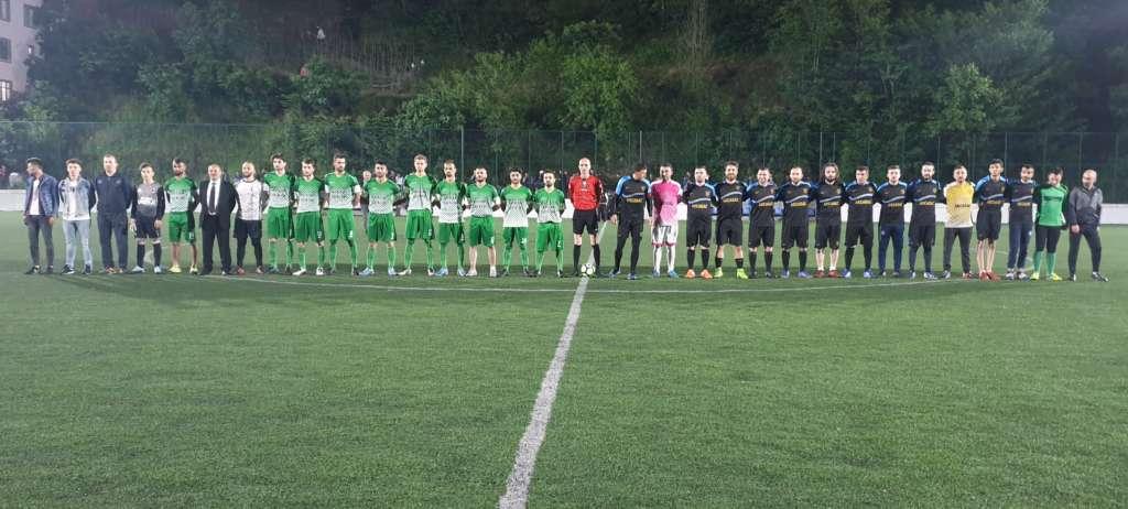 Çaykara Kaymakamlık Kupası Şampiyon Karaçamspor 2