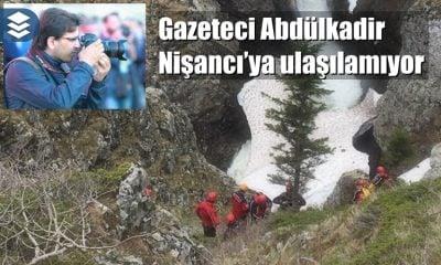 Derebaşı'nda uçurumdan düşerek kaybolan gazeteci bulunamıyor