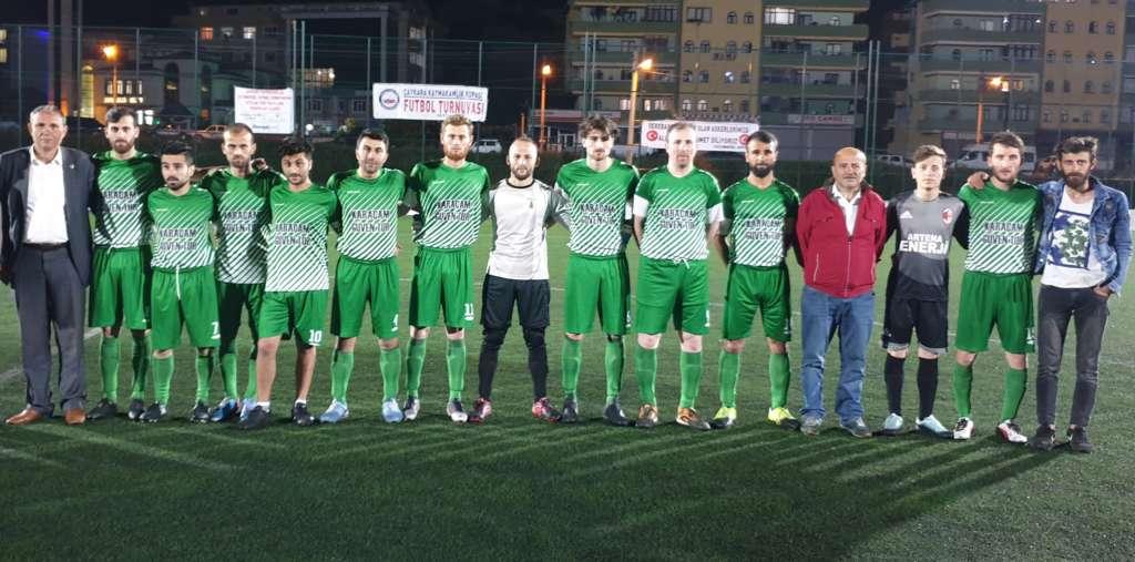 Kaymakamlık Kupa'sında Karaçam ve Eğriderespor finalde 2