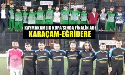 Kaymakamlık Kupa'sında Karaçam ve Eğriderespor finalde