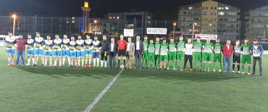 Kaymakamlık Kupa'sında Karaçam ve Eğriderespor finalde 1