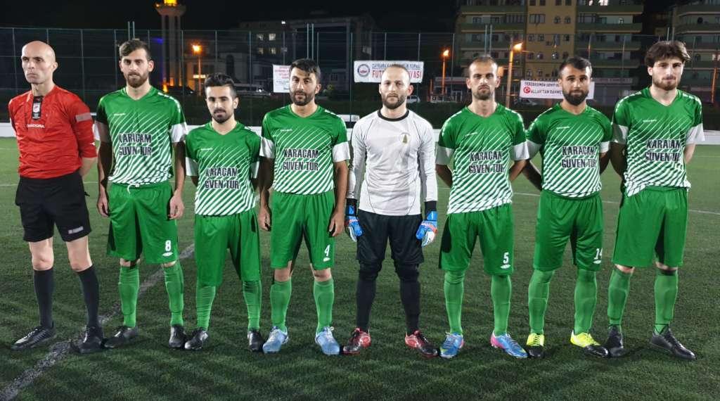 Kupada; Uzungöl ve Karaçam yarı finalde 3