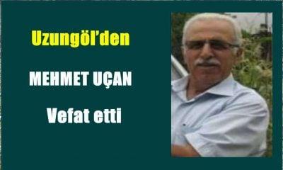 Mehmet Uçan İstanbul'da vefat etti