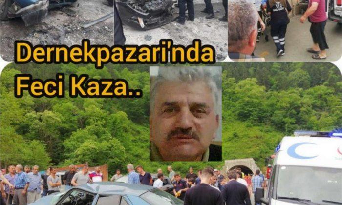 Dernekpazarı'nda kaza: 1 ölü 6 yaralı