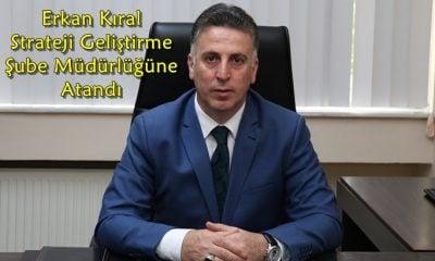 Erkan Kıral DSİ 22. Bölge Müdürlüğü Strateji Geliştirme Şube Müdürü olarak atandı