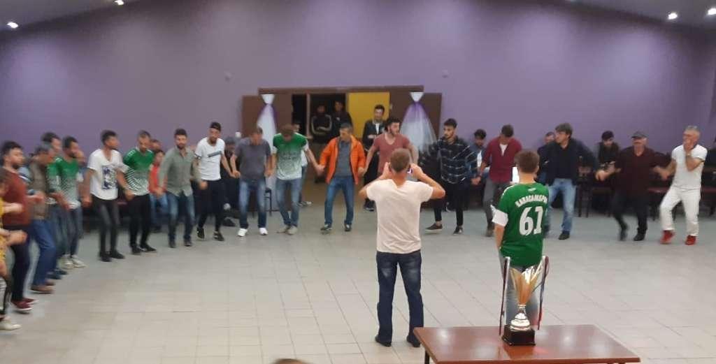 Karaçamspor'dan şampiyonluk kutlaması 12