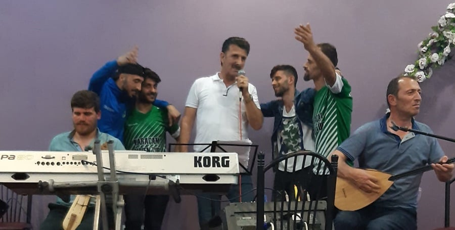 Karaçamspor'dan şampiyonluk kutlaması 6