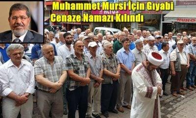 Muhammet Mursi için gıyabi cenaze namazı kılındı