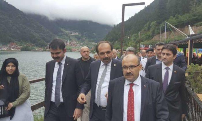 Bakan Kurum: Uzungöl'de 118 bina yıkılacak