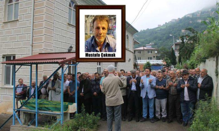 Mustafa Çakmak'ı binlerce kişi uğurladı