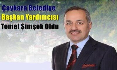 Temel Şimşek Çaykara Belediye Başkan Yardımcısı oldu