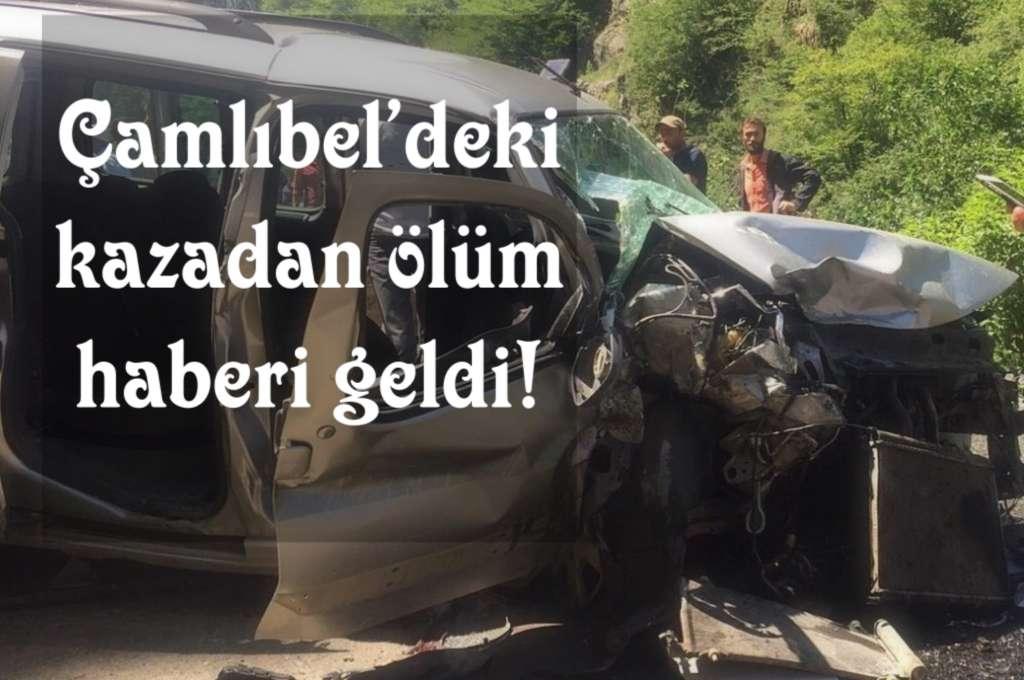 Kazadan ölüm haberi geldi!
