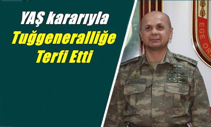Mustafa Cüneyt Arıkan Tuğgeneralliğe terfi etti