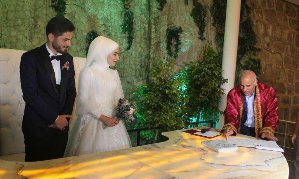 Protokol düğünde buluştu 4