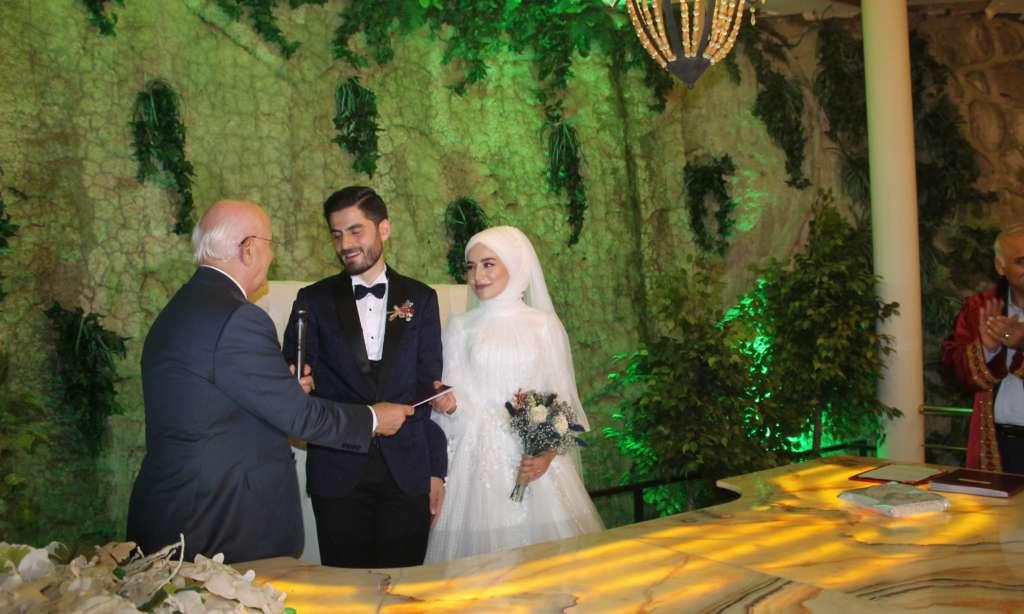 Protokol düğünde buluştu 3