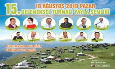 Turnalı Yayla Şenlikleri 2019