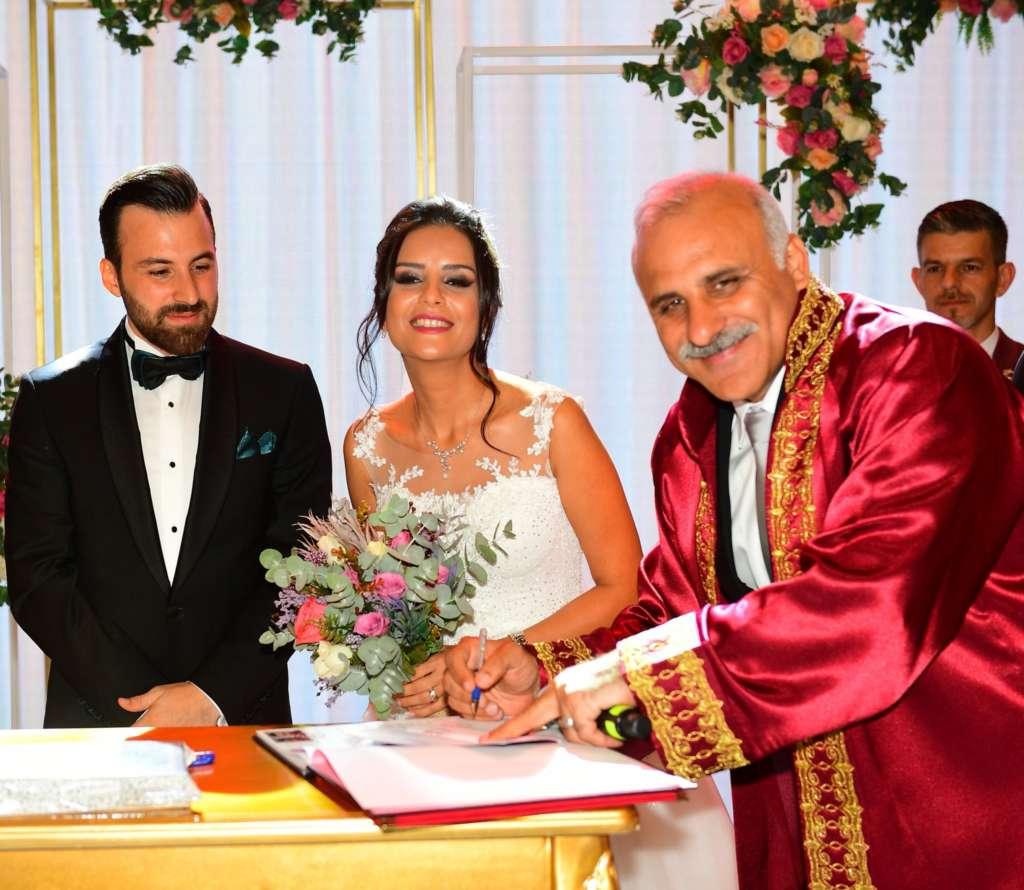 Başkan Zorluoğlu'nun en mutlu nikahı