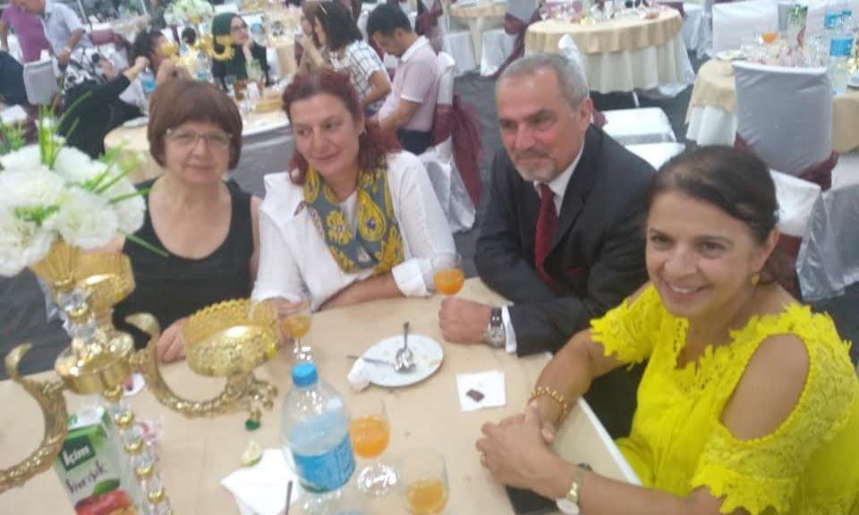 Prof Dr. Alaybey Karoğlu kızını evlendirdi 5