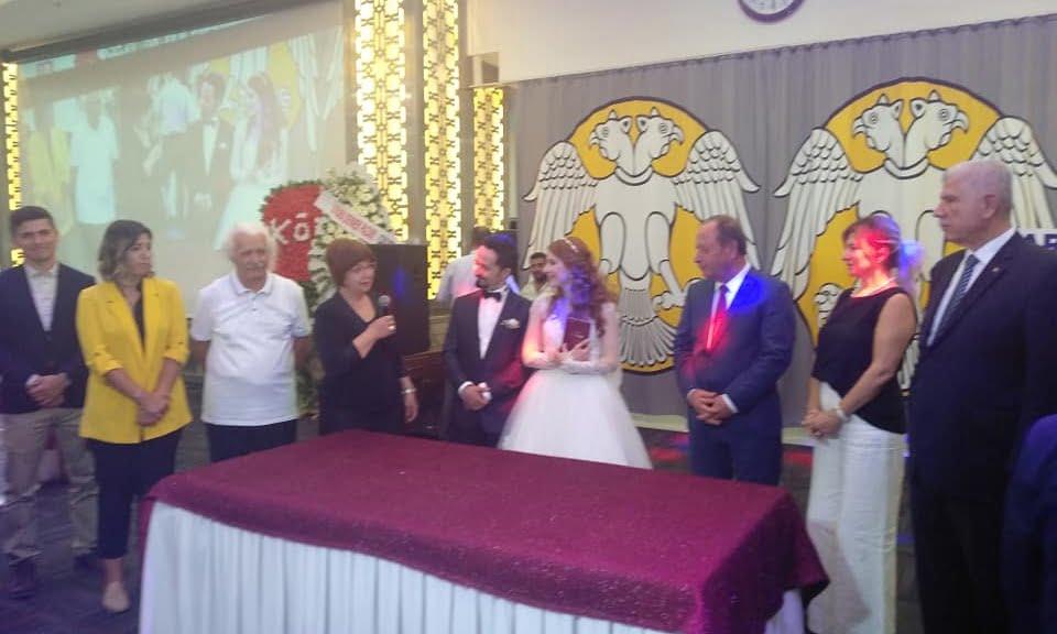 Prof Dr. Alaybey Karoğlu kızını evlendirdi 2