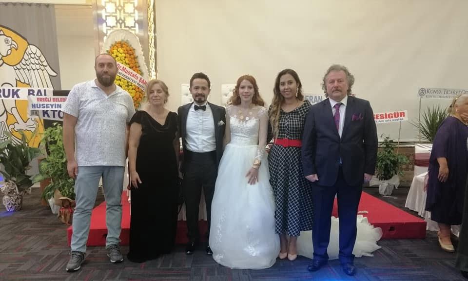 Prof Dr. Alaybey Karoğlu kızını evlendirdi 3
