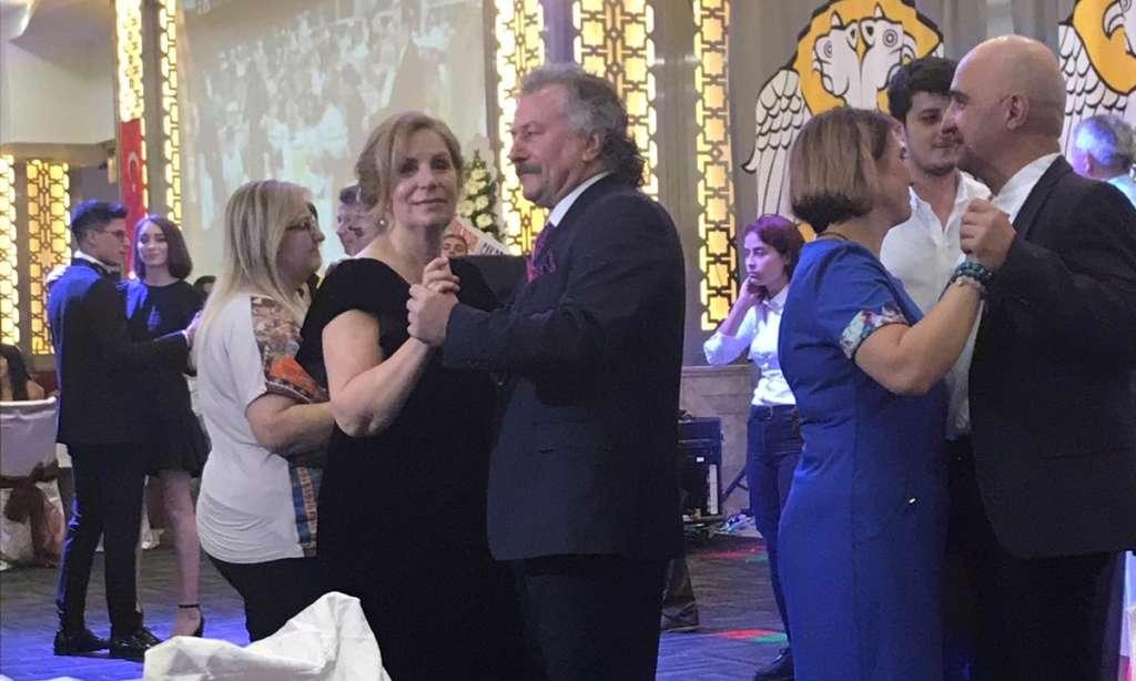 Prof Dr. Alaybey Karoğlu kızını evlendirdi 14