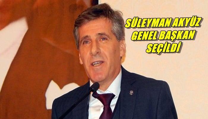 Süleyman Akyüz Petrol-İş Sendikası Genel Başkanlığına seçildi