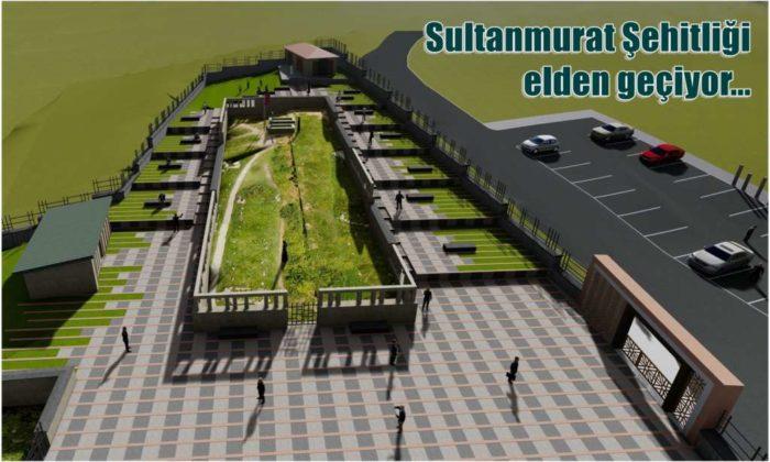 Sultanmurat Şehitliği restorasyona alınıyor