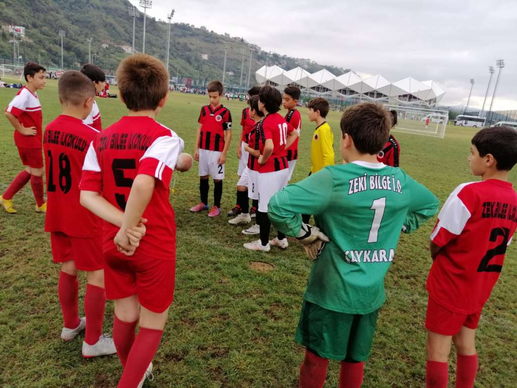 Turgut Uçar Trabzon Cup turnuvasında Çaykaraspor'un başarısı 2