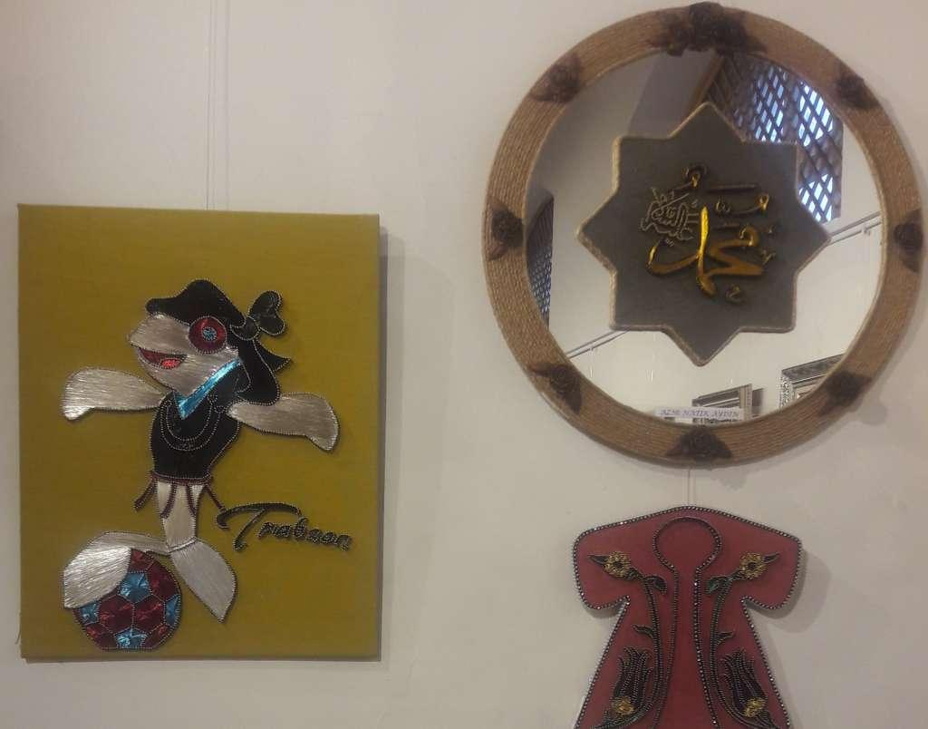 Cumhuriyet sanat sergisi İl kültür müdürlüğünde açıldı 12