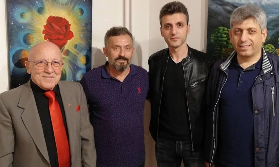 Cumhuriyet sanat  sergisi İl kültür müdürlüğünde açıldı 1