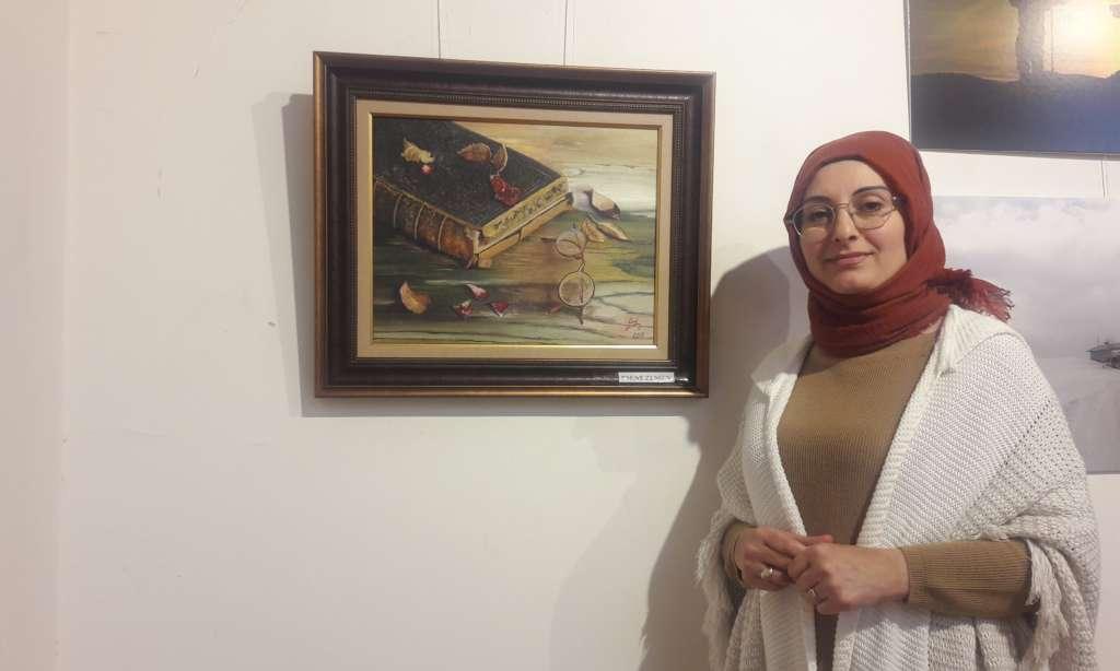Cumhuriyet sanat sergisi İl kültür müdürlüğünde açıldı 8