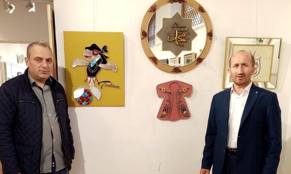 Cumhuriyet sanat  sergisi İl kültür müdürlüğünde açıldı 4