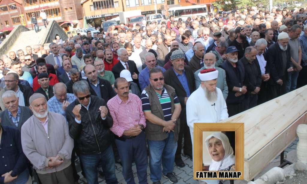 Fatma Manap sonsuza uğurlandı
