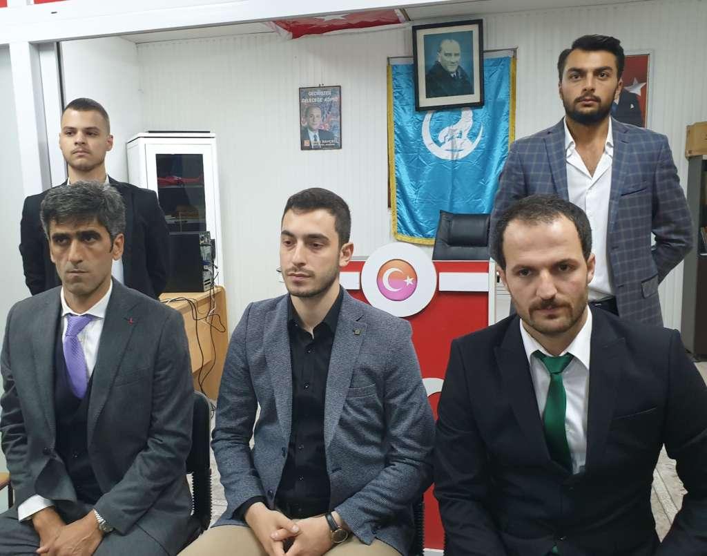 Ülkü Ocakları Eğitim ve Kültür Vakfı Çaykara Şubesi düzenlenen törenle hizmete açıldı 2