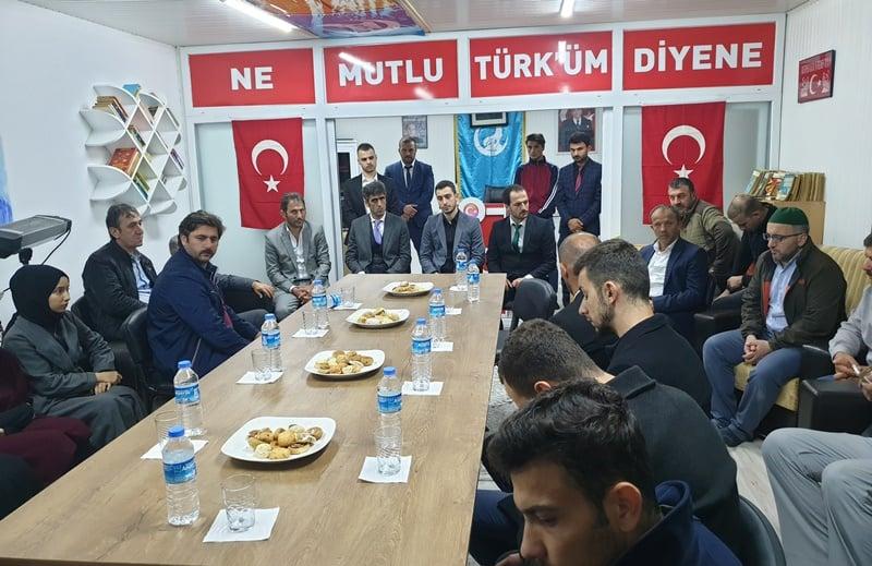 Ülkü Ocakları Eğitim ve Kültür Vakfı Çaykara Şubesi düzenlenen törenle hizmete açıldı 10