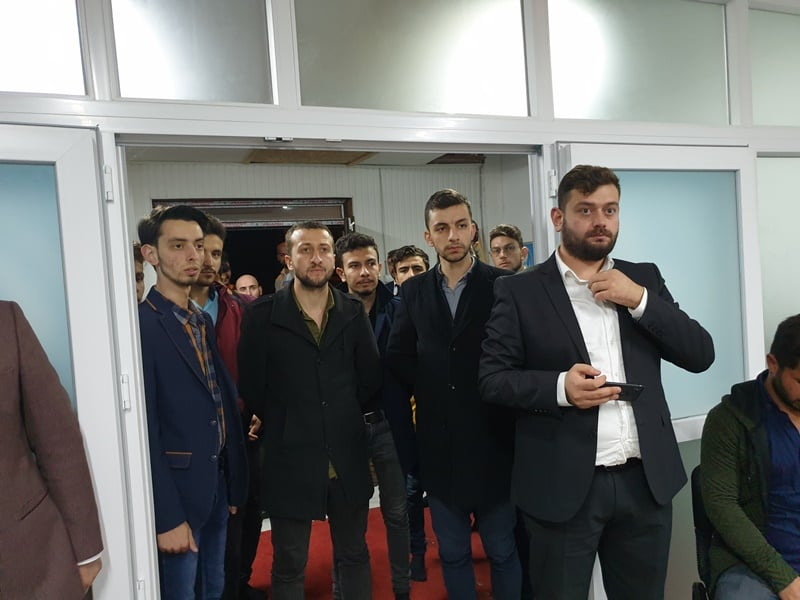 Ülkü Ocakları Eğitim ve Kültür Vakfı Çaykara Şubesi düzenlenen törenle hizmete açıldı 4