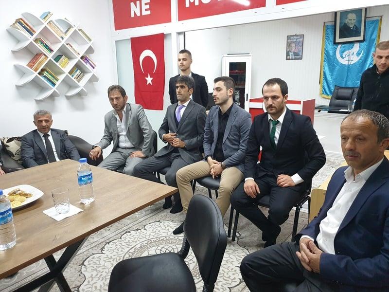 Ülkü Ocakları Eğitim ve Kültür Vakfı Çaykara Şubesi düzenlenen törenle hizmete açıldı 5