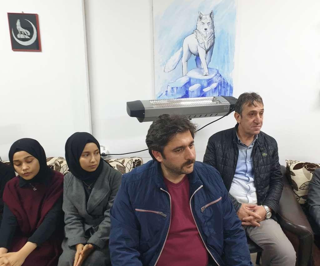 Ülkü Ocakları Eğitim ve Kültür Vakfı Çaykara Şubesi düzenlenen törenle hizmete açıldı 7