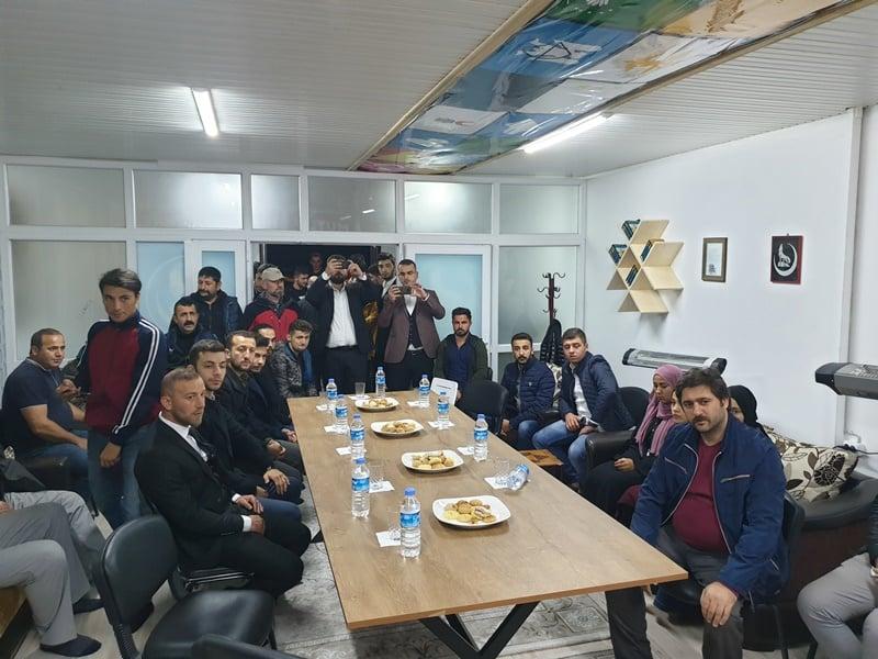 Ülkü Ocakları Eğitim ve Kültür Vakfı Çaykara Şubesi düzenlenen törenle hizmete açıldı 8