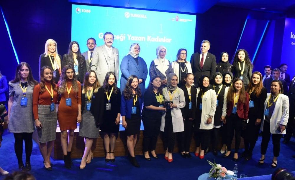 Geleceği Yazan Kadınlar Projesinde Türkiye üçüncüsü oldu 1
