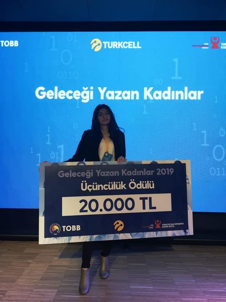 Geleceği Yazan Kadınlar Projesinde Türkiye üçüncüsü oldu 2
