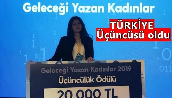 Geleceği Yazan Kadınlar Projesinde Türkiye üçüncüsü oldu
