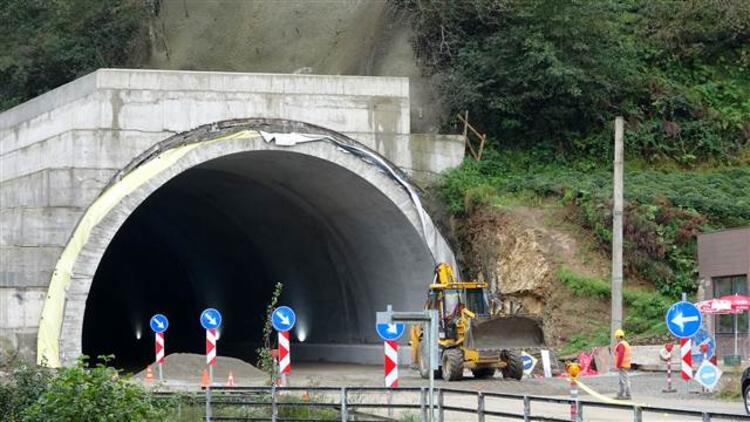 Ulaşım tünelden sağlanıyor 1