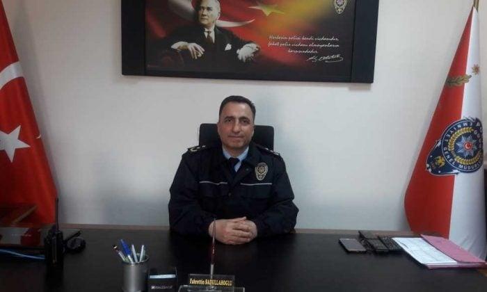 Akçaabat Emniyet MüdürlüğüneFahrettin Sadullahoğlu atandı.