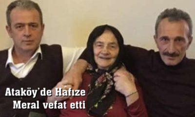 Ataköy'de Hafıze Meral vefat etti