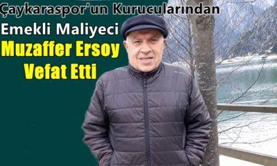 Emekli maliyeci Muzaffer Kemal Ersoy vefat etti